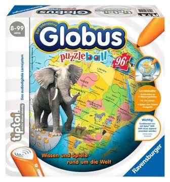 00515 Lernspiele tiptoi® Der interaktive Globus - puzzleball® von Ravensburger 1