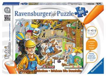 tiptoi® Puzzeln * Entdecken * Erleben: Die Baustelle tiptoi®;tiptoi® Puzzle - Bild 1 - Ravensburger