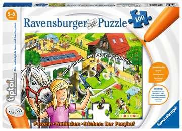 tiptoi® Puzzeln, Entdecken, Erleben: Der Ponyhof tiptoi®;tiptoi® Puzzle - Bild 1 - Ravensburger