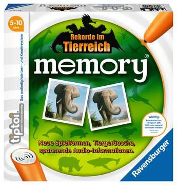 00519 tiptoi® Spiele tiptoi® memory Rekorde im Tierreich von Ravensburger 1