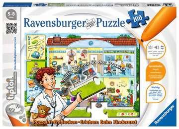 00523 Kinderpuzzle tiptoi® Puzzeln, Entdecken, Erleben: Beim Kinderarzt von Ravensburger 1