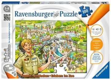 00524 tiptoi® Puzzle tiptoi® Puzzeln, Entdecken, Erleben: Im Zoo von Ravensburger 1