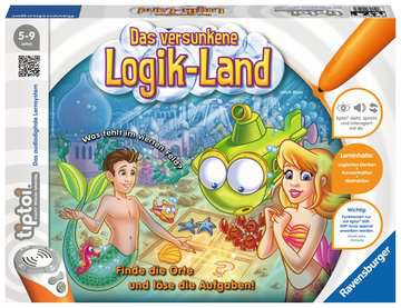 00526 tiptoi® Spiele tiptoi® Das versunkene Logik-Land von Ravensburger 1