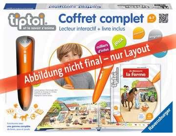 Coffret complet lecteur interactif + Livre Ferme tiptoi®;Lecteur et coffrets complets tiptoi® - Image 1 - Ravensburger