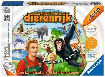 tiptoi® - avontuur in het dierenrijk tiptoi®;tiptoi® de spellen - image 1 - Ravensburger
