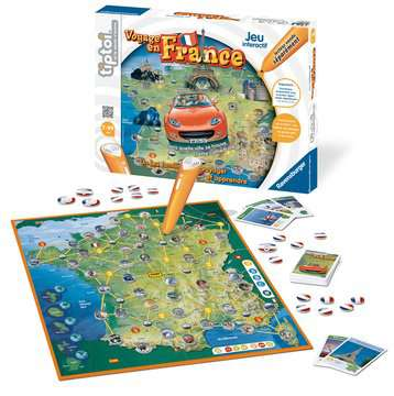 Voyage en France tiptoi®;Jeux tiptoi® - Image 3 - Ravensburger
