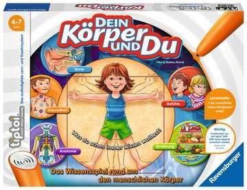 00560 tiptoi® Spiele tiptoi® Dein Körper und Du von Ravensburger 1