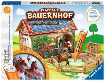 00564 tiptoi® Spielfiguren tiptoi® Tier-Set Bauernhof von Ravensburger 1