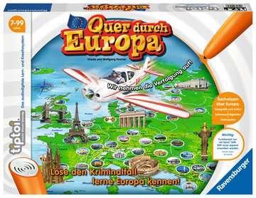tiptoi® Quer durch Europa tiptoi®;tiptoi® Spiele - Bild 1 - Ravensburger