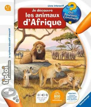 Je découvre les animaux d Afrique tiptoi®;Livres tiptoi® - Image 1 - Ravensburger