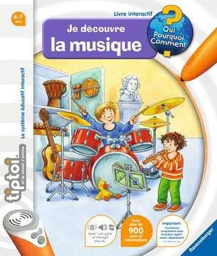 Je découvre la musique tiptoi®;Livres tiptoi® - Image 1 - Ravensburger