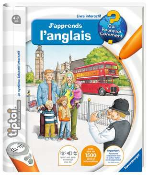 J apprends l anglais tiptoi®;Livres tiptoi® - Image 1 - Ravensburger