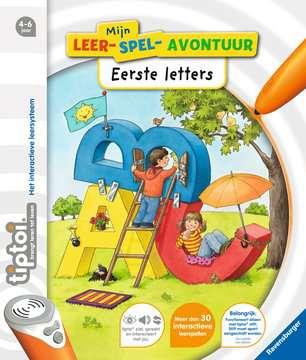 tiptoi® mijn leer-spel-avontuur: Eerste letters tiptoi®;tiptoi® boeken - image 1 - Ravensburger