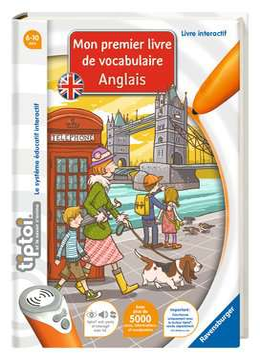 tiptoi® - Mon premier livre de vocabulaire anglais tiptoi®;Livres tiptoi® - Image 1 - Ravensburger
