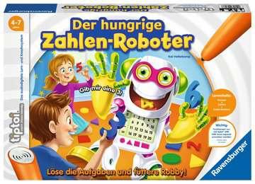 00706 tiptoi® Spiele tiptoi® Der hungrige Zahlen-Roboter von Ravensburger 1