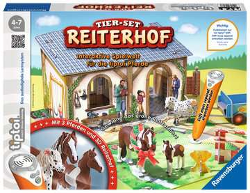 tiptoi® Tier-Set Reiterhof tiptoi®;tiptoi® Spielfiguren - Bild 1 - Ravensburger