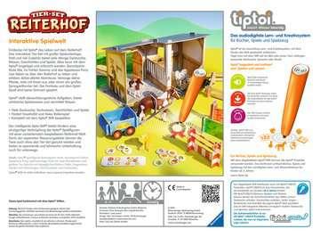 00707 tiptoi® Spielfiguren tiptoi® Tier-Set Reiterhof von Ravensburger 2