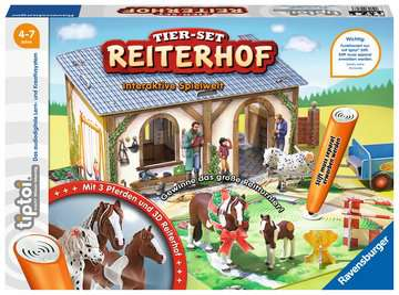 tiptoi® Tier-Set Reiterhof tiptoi®;tiptoi® Spielfiguren - Bild 2 - Ravensburger
