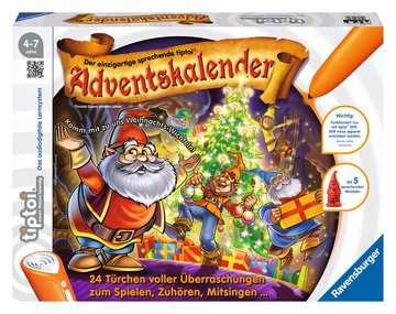 00715 tiptoi® Spiele tiptoi® Adventskalender Weihnachts-Wichtel von Ravensburger 1
