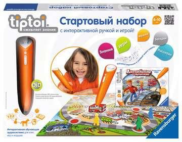 """Starter-Set """"Die Englisch Detektive"""" (russische Ausgabe) tiptoi®;tiptoi® Produkte auf Russisch - Bild 1 - Ravensburger"""