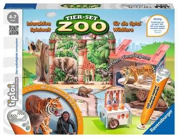00732 tiptoi® Spielfiguren tiptoi® Tier-Set Zoo von Ravensburger 1