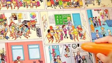 00733 tiptoi® Spiele tiptoi® Wir spielen Schule von Ravensburger 4