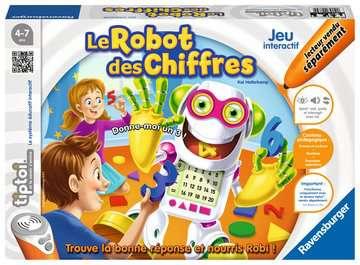 tiptoi® - Le robot des chiffres tiptoi®;Jeux tiptoi® - Image 1 - Ravensburger