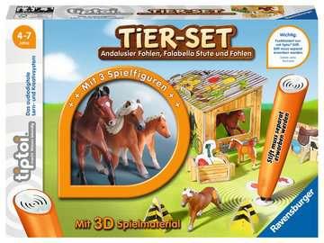 00742 tiptoi® Spielfiguren tiptoi® Tier-Set Falabella von Ravensburger 1