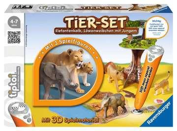 00743 tiptoi® Spielfiguren tiptoi® Tier-Set Löwen von Ravensburger 1