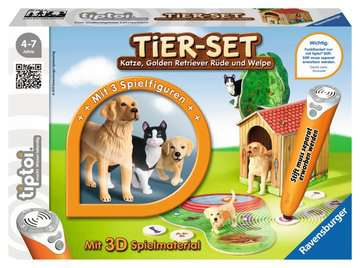 tiptoi® Tier-Set Golden Retriever tiptoi®;tiptoi® Spielfiguren - Bild 1 - Ravensburger