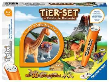 00746 tiptoi® Spielfiguren tiptoi® Tier-Set Im Zeitalter der Dinosaurier von Ravensburger 1