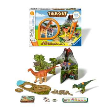 00746 tiptoi® Spielfiguren tiptoi® Tier-Set Im Zeitalter der Dinosaurier von Ravensburger 4