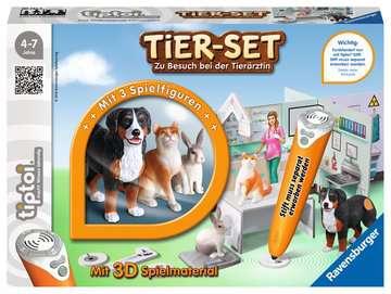 00747 tiptoi® Spielfiguren tiptoi® Tier-Set Zu Besuch bei der Tierärztin von Ravensburger 1