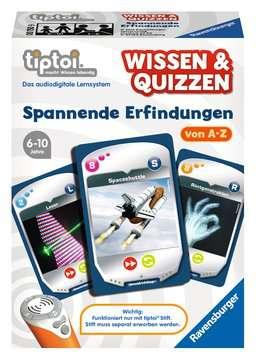 00750 tiptoi® Spiele tiptoi® Wissen & Quizzen: Spannende Erfindungen von Ravensburger 1