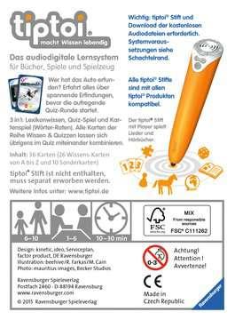 00750 tiptoi® Spiele tiptoi® Wissen & Quizzen: Spannende Erfindungen von Ravensburger 2