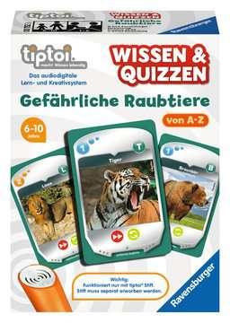 00752 tiptoi® Spiele tiptoi® Wissen & Quizzen: Gefährliche Raubtiere von Ravensburger 1