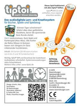 00752 tiptoi® Spiele tiptoi® Wissen & Quizzen: Gefährliche Raubtiere von Ravensburger 2