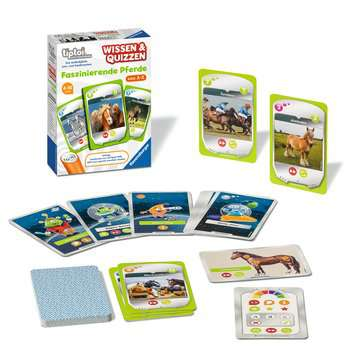 00754 tiptoi® Spiele tiptoi® Wissen & Quizzen: Faszinierende Pferde von Ravensburger 3