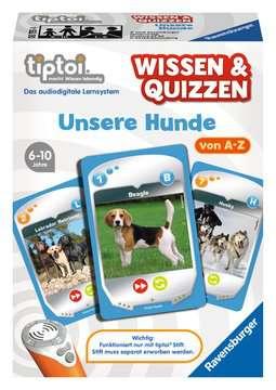 00755 tiptoi® Spiele tiptoi® Wissen & Quizzen: Unsere Hunde von Ravensburger 1