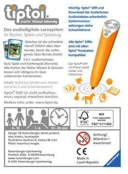 00755 tiptoi® Spiele tiptoi® Wissen & Quizzen: Unsere Hunde von Ravensburger 2
