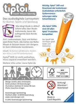 tiptoi® Wissen & Quizzen: Die Musikinstrumente tiptoi®;tiptoi® Spiele - Bild 2 - Ravensburger