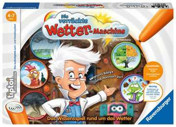 tiptoi® Die verrückte Wettermaschine tiptoi®;tiptoi® Spiele - Bild 1 - Ravensburger