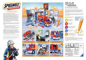 00760 tiptoi® Spielfiguren tiptoi® Spielwelt Feuerwehr von Ravensburger 2