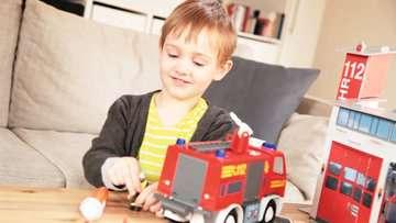 00760 tiptoi® Spielfiguren tiptoi® Spielwelt Feuerwehr von Ravensburger 5