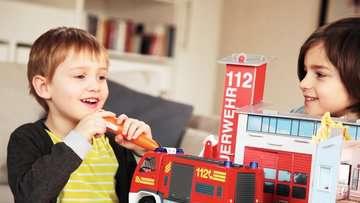 00760 tiptoi® Spielfiguren tiptoi® Spielwelt Feuerwehr von Ravensburger 7
