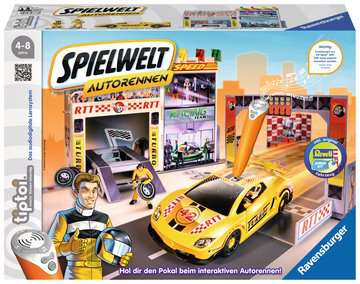 00761 tiptoi® Spielfiguren tiptoi® Spielwelt Autorennen von Ravensburger 1