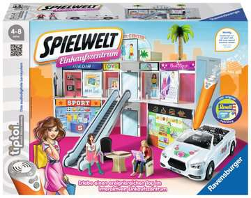 00762 tiptoi® Spielfiguren tiptoi® Spielwelt Einkaufszentrum von Ravensburger 1