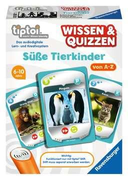 00767 tiptoi® Spiele tiptoi® Wissen & Quizzen: Süße Tierkinder von Ravensburger 1