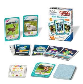 00767 tiptoi® Spiele tiptoi® Wissen & Quizzen: Süße Tierkinder von Ravensburger 3