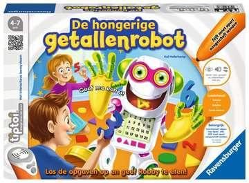 tiptoi® - De hongerige getallenrobot tiptoi®;tiptoi® de spellen - image 1 - Ravensburger